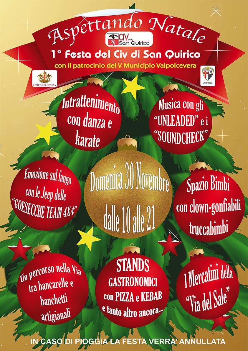 Immagini Aspettando Natale.San Quirico Domenica La Prima Edizione Di Aspettando Natale
