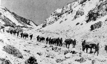 Gli Alpini Ricordano Un Giovane Militare Disperso Nella